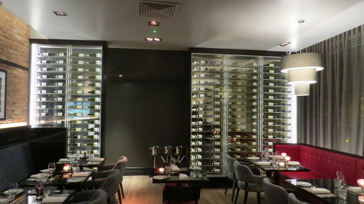 The brasserie at Malmaison in Leith.