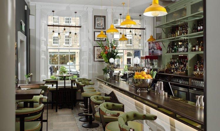 The bar at Badger & Co.