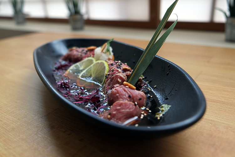 Beef tataki from Harajuku Kitchen.
