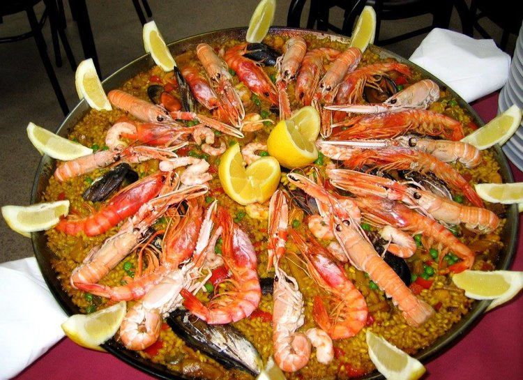 Seafood paella is among the dishes on offer at the new Mi Casa tapas restaurant.