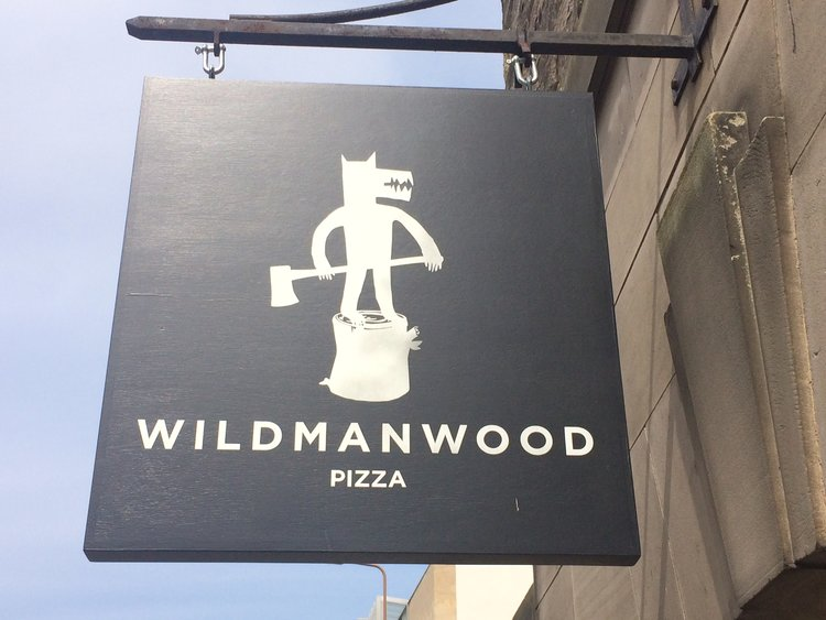 If you go down to the WildManWood, you're in for a pizza surprise.