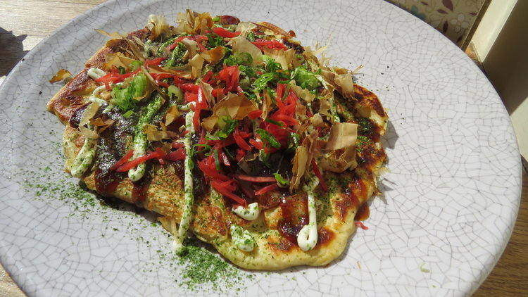 Okonomiyaki: Japan's answer to the full cooked breakfast.