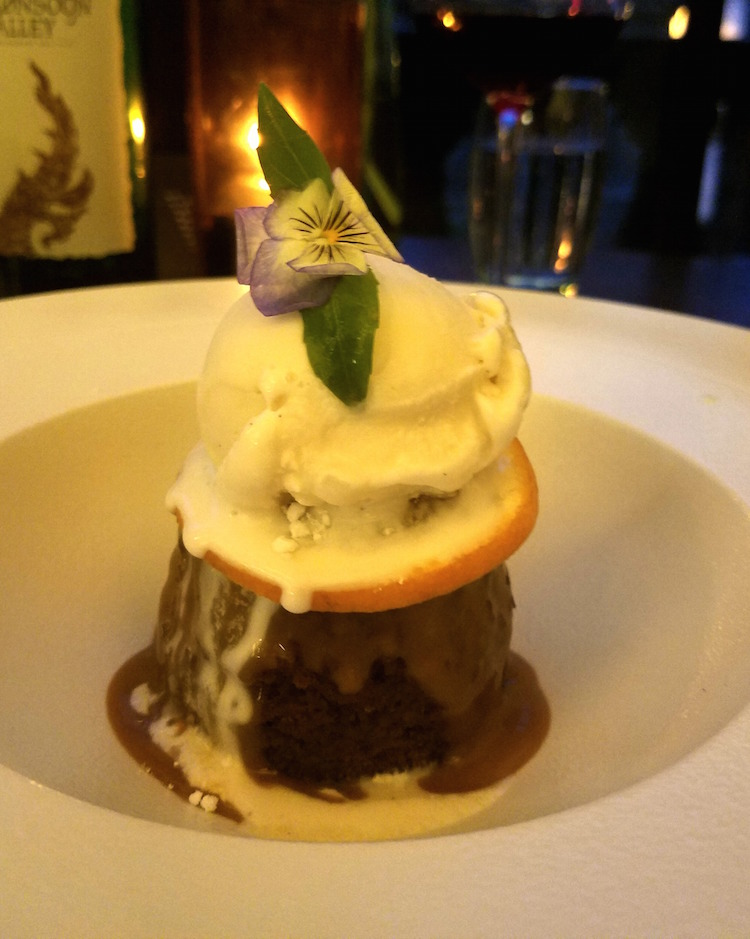 Chaophraya Sticky Toffee Pudding