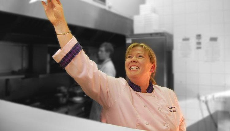 Chef Jak rocking the pass.