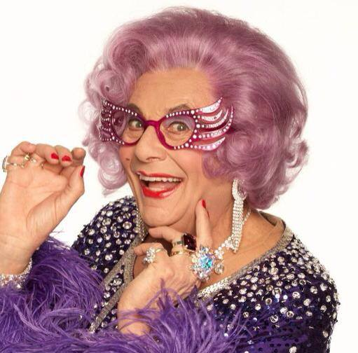 Dame Edna, AKA Barry Humphries, Joanna Lumley and JK Rowling have all dined at Tower Restaurant. Although not on the same night.