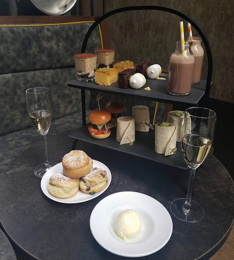 Malmaison Glasgow afternoon tea