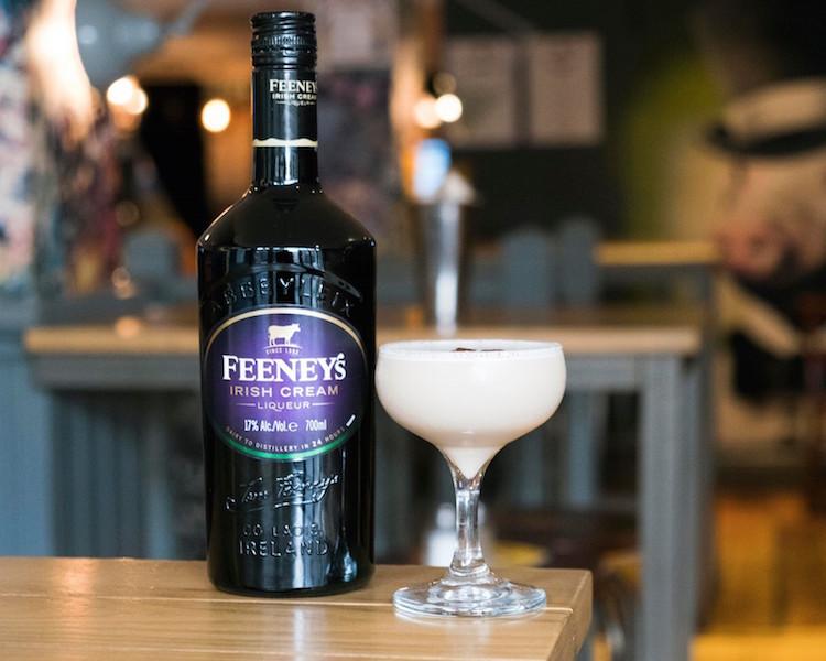 Christmas cocktails in Glasgow - The Crafty Pig Irish Coffee Martini