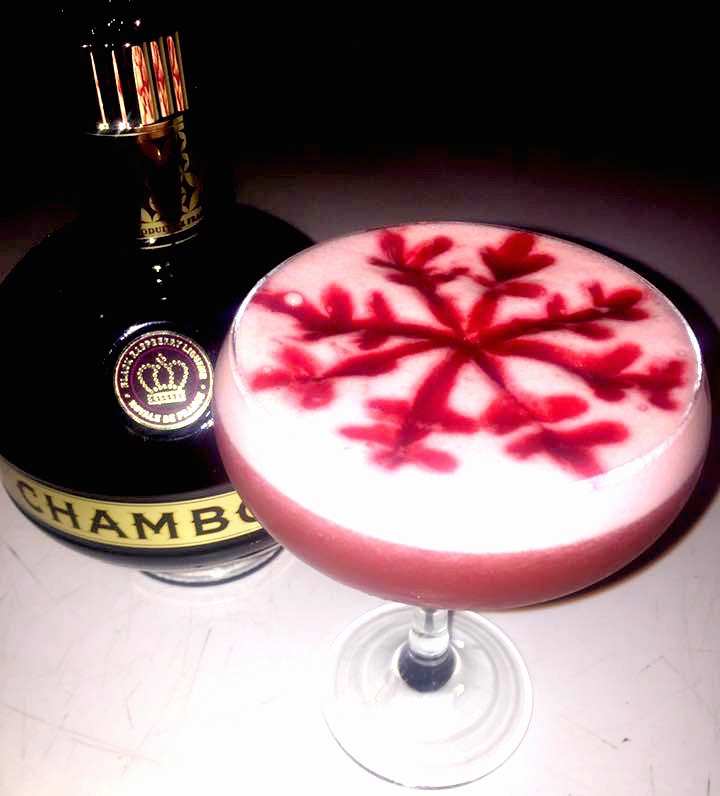 The Social French Martini