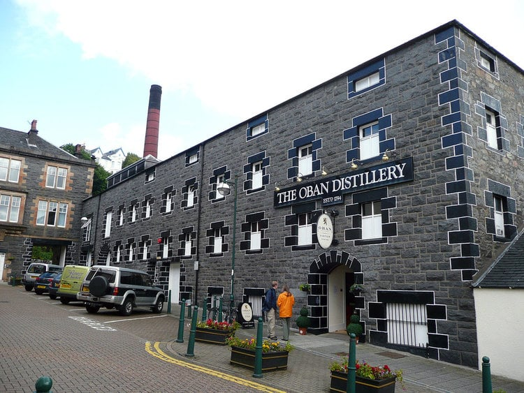 Oban Distillery is one of the producers exhibiting at the West Coast Whisky Feis. Pic: Ayack via Wiki.