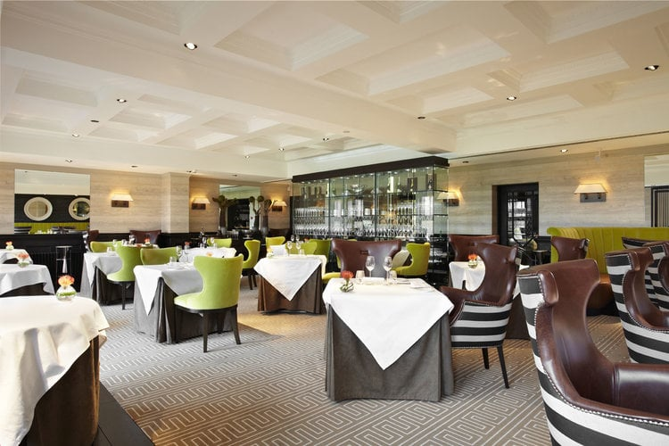 Martin Wishart at Loch Lomond has a new interior. Pic: restaurant's own.