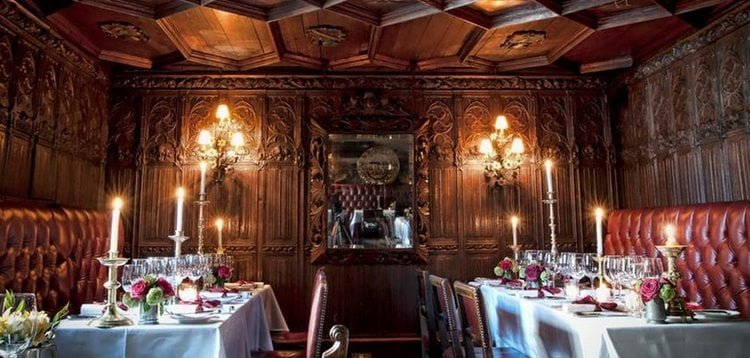 The Witchery by The Castle has a unique interior.