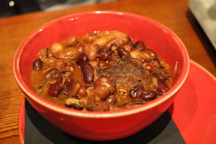 The Raven Glasgow beans