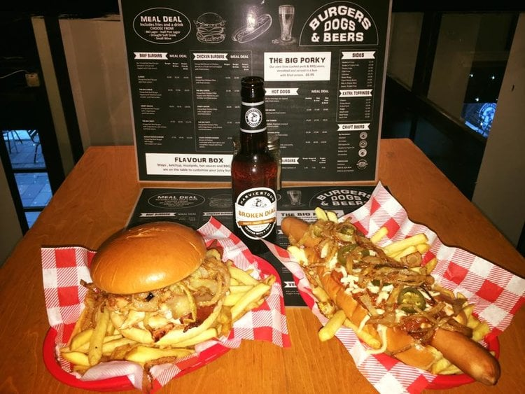 New restaurants in Glasgow: Burgers, Dogs and Beers. Does what it says on the tin. Pic: Facebook.