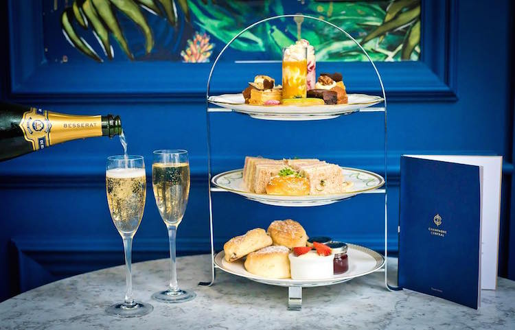 Champagne Central Afternoon Tea