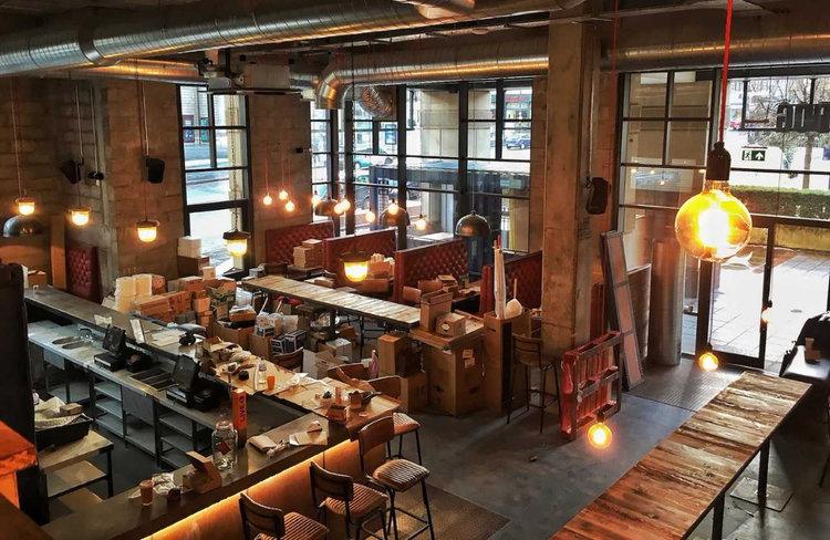 New restaurant in Glasgow