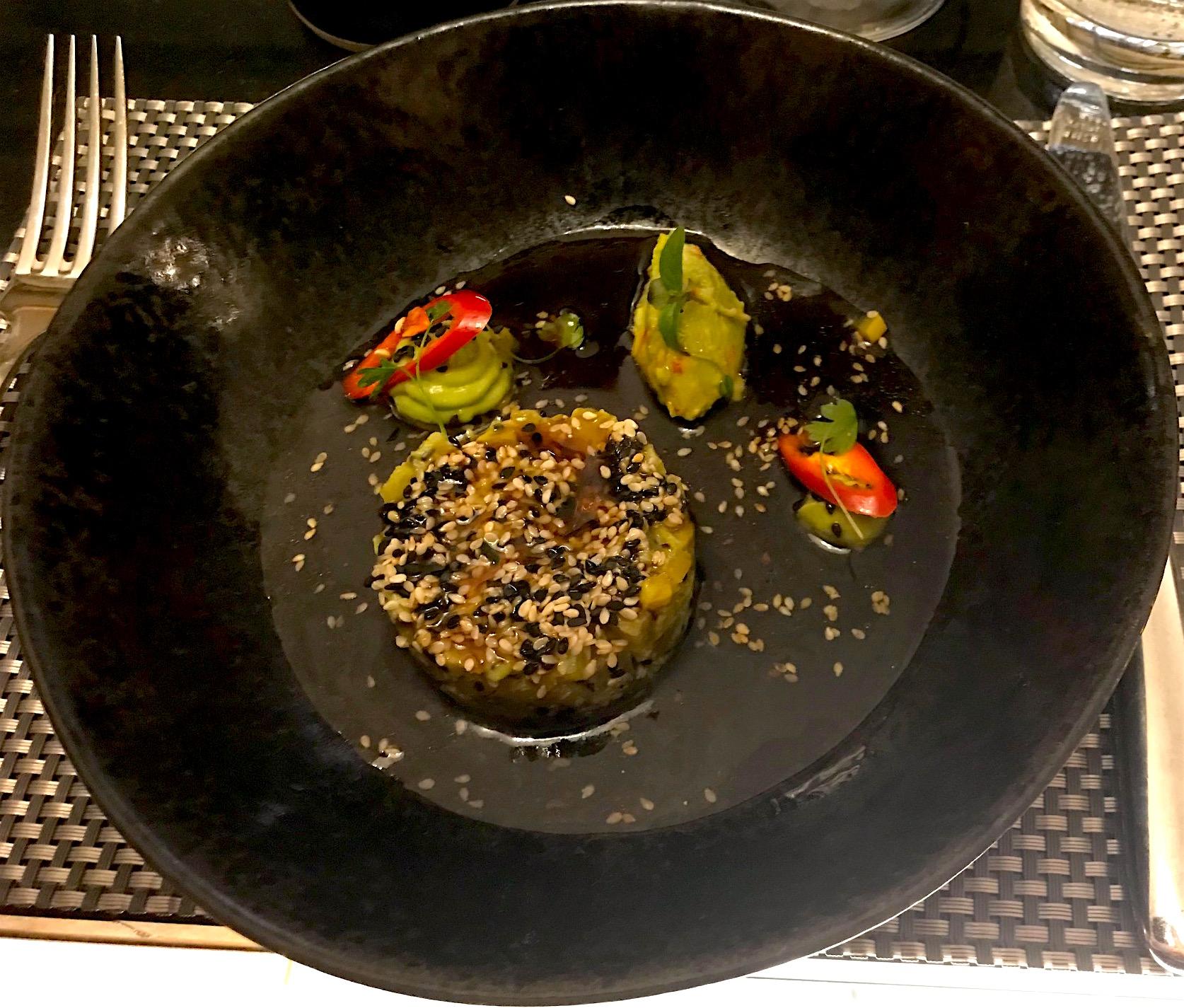 Beetroot tartar at Chez Mal.