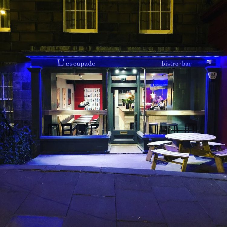 new restaurants in Edinburgh